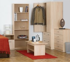 Elemental Woodgrain Bedroom Furniture Set
