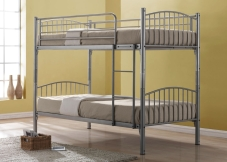 Childrens metal bunk bed